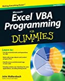 Excel VBA Programming For Dummies (0470503696) by Walkenbach, John
