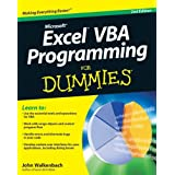 Excel VBA Programming for Dummies (For Dummies (Computers))by John Walkenbach