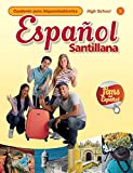 img - for Espanol Santillana HS Level 1 Cuaderno para hispanohablantes book / textbook / text book