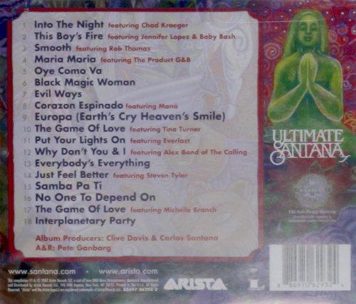 Santana The Ultimate Collection: Santana (886970629324) $3.75