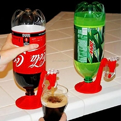 Coke Fizzy Soda Drinking Dispense Gadget Cool Dispenser drinking kitchen tools (Coca Cola Cake Pan compare prices)