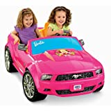 Fisher Price Power Wheels Barbie Ford Mustang