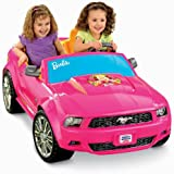 Fisher-Price Power Wheels Barbie Ford Mustang