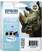 Epson T1006 Multipack d'origine 3 Couleurs Durabrite