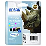 Epson Original Durabrite T1006 Rhino Colour Multipack Ink Cartridgesby Epson