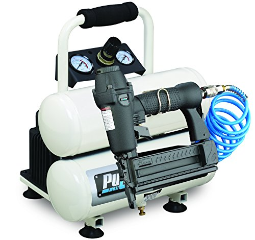 Buy Pulsar Products PCE6020TKN Twin Tank Air Compressor with Nailer, 2 gallon