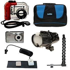 INTOVA Digital Waterproof Camera + Deluxe Kit