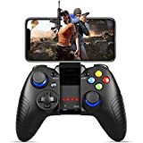 Mobile Game Controller, PowerLead PG8710 Gaming Controller Wireless 4.0 Gamepad Compatible with iOS Android iPhone iPad Samsung Galaxy (Color: 8710 Black)