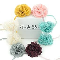 Graceful Shine Baby Girl Headbands Set Newborn Infant Toddler Hair Accessories