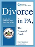 img - for Divorce in PA: The Essential Guide book / textbook / text book