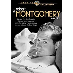 Robert Montgomery Collection (4 Discs)