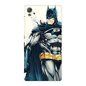 Ajay Enterprises Shade Knight Hunter Back Case Cover for Xperia Z3 Plus