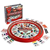 MONOPOLY DISNEY PIXAR CARS 2 GAME LIGHTNING MCQUEEN RACE TRACK GAME KIDS FUN NEW