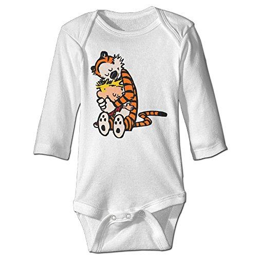 Missone Boy's & Girl's Cute Tiger Long Sleeve Bodysuit Baby Onesie (Cute Easy Costumes)