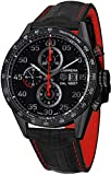 TAG Heuer Men's CAR2A80.FC6237 Carrera Analog Display Swiss Automatic Black Watch