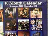 Walt Disney World Park 2012 - 2013 16 Month Calendar NEW