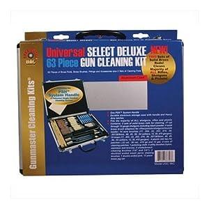 Gunmaster Universal Select Deluxe Aluminum Case Gun Cleaning Kit (63-Piece) by Gunmaster