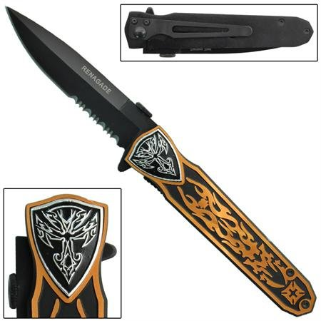 Hell's Angel Spring Assisted Knife