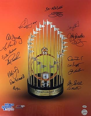 Baltimore Orioles 1983 World Series Champs Autographed 16x20 Photo #1 Leaf Coa