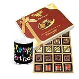 Master Chocolatiers Gift Box With Birthday Mug - Chocholik Belgium Chocolates