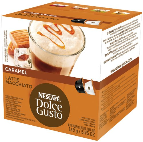 Dolce Gusto Latte Macchiato Caramel front-412184