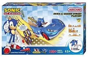 Meccano - 776600 - Jeu de Construction - Sonic - Sonic & Circuit Casino Street