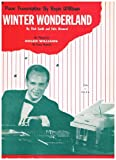 img - for WINTER WONDERLAND - Piano Transcription By Roger Williams (Piano Solo) SHEET MUSIC 1959; As Played by Roger Williams on Kapp Records book / textbook / text book