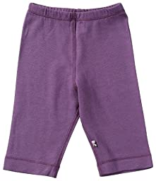 Babysoy Baby Girls\' Slip-On-Pant - Eggplant - 3-6 Months