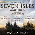 The Sovereign of the Seven Isles Omnibus: Books 1-3 Audiobook by David A. Wells Narrated by Derek Perkins