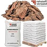 Rindenmulch Mulch Garten Dekor Pinus Kiefer Grob 0-60mm 70L x