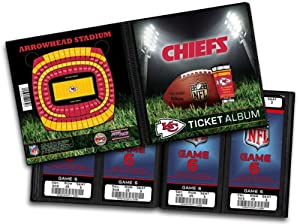 NFL Kansas City Chiefs Ticket Album by That