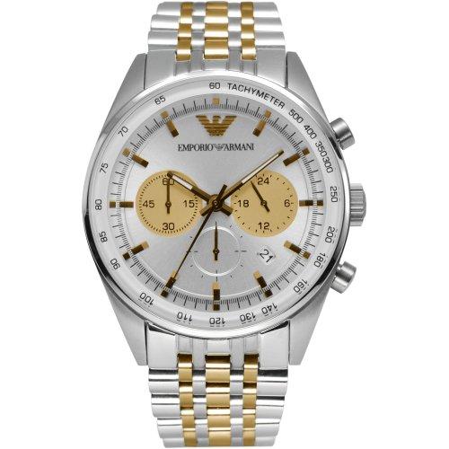 Emporio Armani AR6116 - Reloj para hombres, correa de acero inoxidable