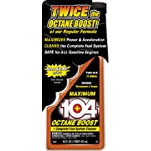 Gold Eagle 10410 104+ Octane Boost with Maximum Formula - 16 oz.