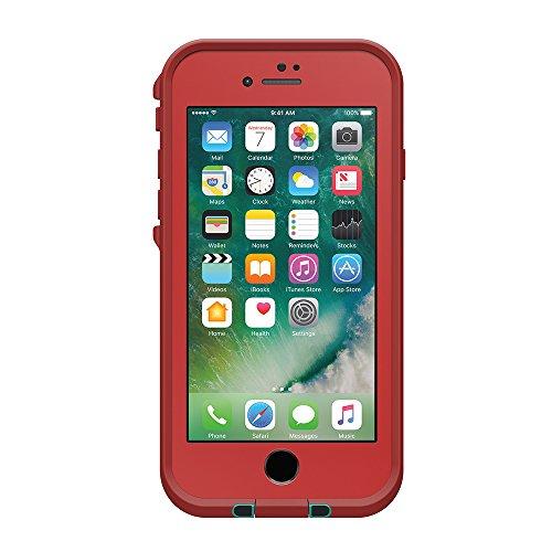 日本正規代理店品・iPhone本体保証付LIFEPROOF 防水 防塵 耐衝撃ケース fre for iPhone7 Ember Red 77-53991