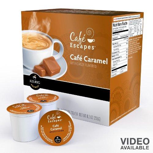 Keurig - Café Escapes Café Caramel K-Cups (16-Pack)