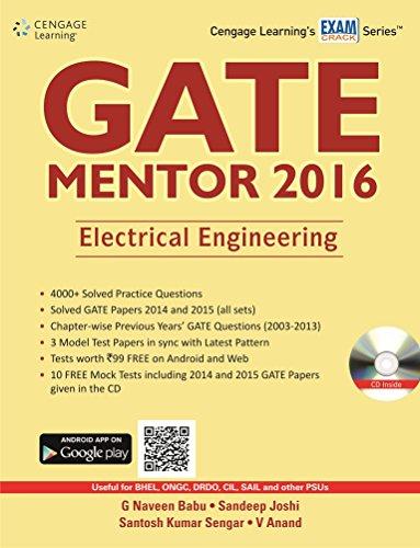 GATE Mentor 2016: Electrical Engineering
