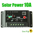 10A PWM Solar Panel Charger Controller Conveter Regulator Auto 12V/ 24V 240Watt