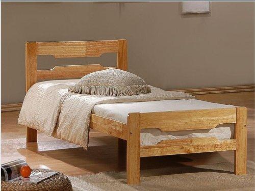 Fresh HARDWOOD BED FRAME HEARTLAND AMELIA SINGLE CHERRY COLOUR