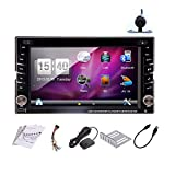 DVD-Pupug-Kostenlose-Rckfahrkamera-Autoradio-Eingeschlossen-2015-New-Model-62-Zoll-LCD-Double-2-DIN-In-Dash-Car-Electronics-DVD-Spieler-Touch-Screen-LCD-Player-Monitor-mit-DVD-CD-MP3-MP4-Monitor-USB-S