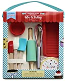 Handstand Kitchen Real Baking Set with Recipes for Kids