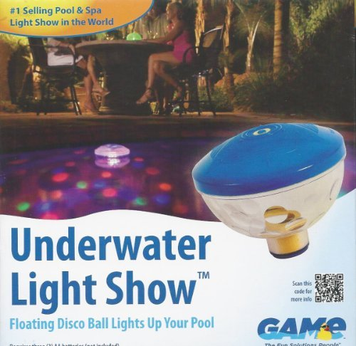 Swimming Pool Floating Disco Ball Underwater Light Show