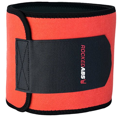 #1 Workout Waist Trimmer Belt for Men and Women - Pro Fitness Trainer Quality - Provides Back Support While Burning Belly Fat - Fully Adjustable - Helps Promote Weight Loss While Slimming Your Abs! (Abs Belt For Women compare prices)