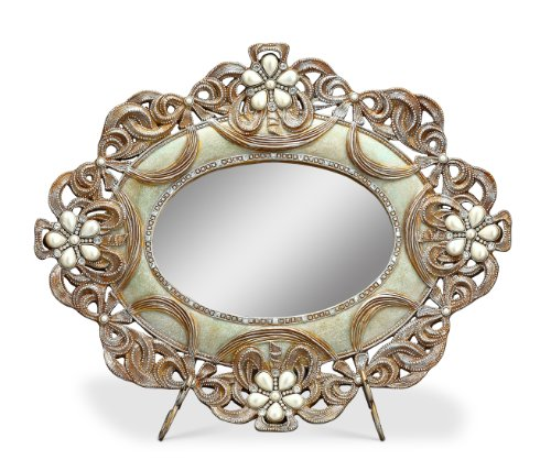 Vintage Dressing Table With Mirror front-174467
