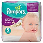 Pampers Active Fit Nappies, Size 5 (T...
