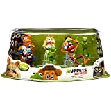 Disney Muppets Most Wanted Movie Exclusive 7-Piece PVC Figurine Playset [Kermit, Miss Piggy, Fozzie, Gonzo, Animal, Walter & Constantine]