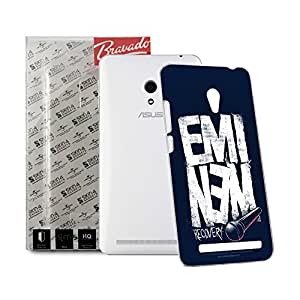 CaseMania Eminem Recovery Case for Asus Zenfone 5 A50/CG Includes Gift Card Worth Rs.200