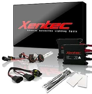 XENTEC 9006 8000K Advanced Slim Alloy Ballast HID Xenon Kit (HB4, Iceberg Blue)