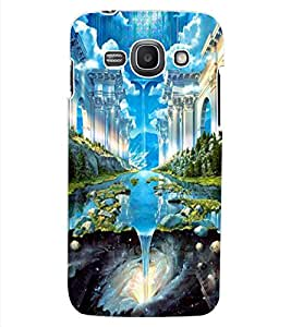ColourCraft Fatasical World Design Back Case Cover for SAMSUNG GALAXY ACE 3 LTE S727