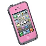 LifeProof Case for iPhone 4/4S – Retail Packaging – Pink