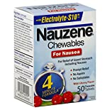 Nauzene Chewables for Nausea, Wild Cherry Flavor, Chewable Tablets, 50 tablets